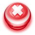 72x72px size png icon of Button Red Cancel
