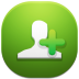 72x72px size png icon of add contact