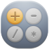 72x72px size png icon of calc