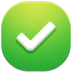 72x72px size png icon of check