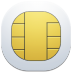 72x72px size png icon of sim card