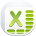 72x72px size png icon of excel