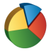 72x72px size png icon of Pie Chart