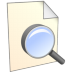 72x72px size png icon of Search File
