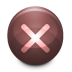 72x72px size png icon of Notice Error