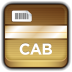 72x72px size png icon of Archive CAB