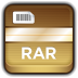 72x72px size png icon of Archive RAR