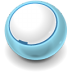 72x72px size png icon of Round Blank