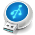 72x72px size png icon of USB