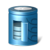 72x72px size png icon of battery
