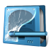 72x72px size png icon of drive security
