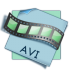 72x72px size png icon of filetype avi