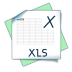 72x72px size png icon of filetype xls