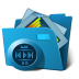 72x72px size png icon of folder multimedia