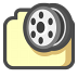 72x72px size png icon of My videos