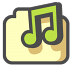 72x72px size png icon of Shared music