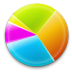 72x72px size png icon of Chart