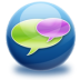 72x72px size png icon of chat