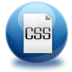 72x72px size png icon of file CSS