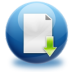 72x72px size png icon of file download