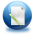 72x72px size png icon of file edit