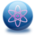 72x72px size png icon of molecule