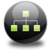 72x72px size png icon of sitemap