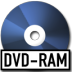 72x72px size png icon of DVD Ram