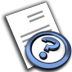 72x72px size png icon of File Help