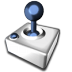 72x72px size png icon of Joystick