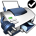 72x72px size png icon of Printer Default Network