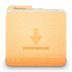 72x72px size png icon of folder download