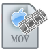 72x72px size png icon of MovieTypeMOV