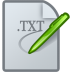 72x72px size png icon of Text