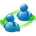 72x72px size png icon of peer to peer
