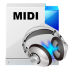 72x72px size png icon of filetype midi