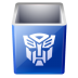 72x72px size png icon of recycle bin empty