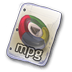 72x72px size png icon of Filetype mpg
