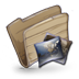 72x72px size png icon of Folder Pictures Folder