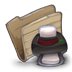 72x72px size png icon of Folder printers