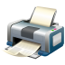 72x72px size png icon of Print