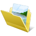 72x72px size png icon of Folder my pictures
