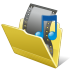 72x72px size png icon of Folder my video