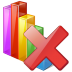 72x72px size png icon of chart delete