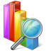 72x72px size png icon of chart search