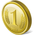 72x72px size png icon of coin