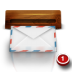 72x72px size png icon of wood mail