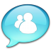 72x72px size png icon of Windows Live Messenger
