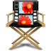 72x72px size png icon of Windows Live Movie Maker