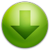 72x72px size png icon of alarm arrow down